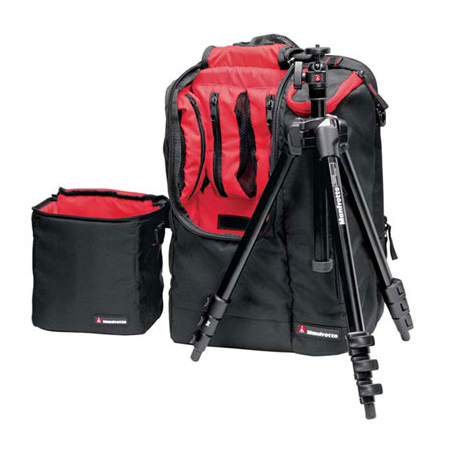 Tripods Manfrotto 7322YB MYPACK Compact Tripod and Backpack **Xmas Gift Pack**