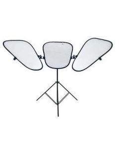 Lastolite TriFlector MkII With Sunfire/Silver Panels And Stand - 2933SP