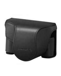 Panasonic DMW-CGK35E-K Black Leather Case for GX80 Kit