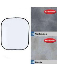 Lastolite 56WD Collapsible Reversible Background (1.5 x 1.8m) - Washington/Dakota