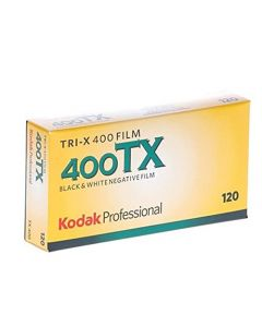 Kodak Tri-X 400TX 120 Roll Film Professional (5 Pack)
