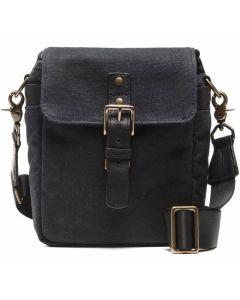 ONA Bond Street Waxed Canvas Camera Bag - Black
