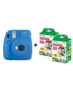 Fujifilm Instax Mini 9 Instant Camera with 40 Shots