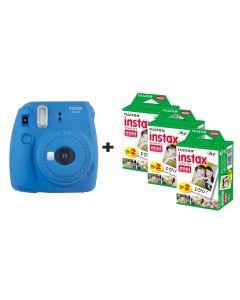 Fujifilm Instax Mini 9 Instant Camera with 60 Shots