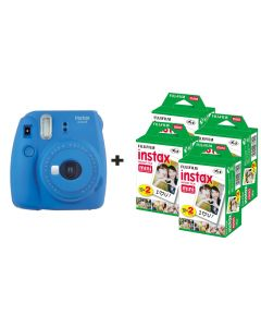 Fujifilm Instax Mini 9 Instant Camera with 80 Shots