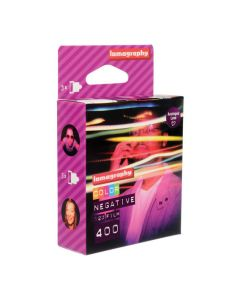 Lomography Color Negative 400 ISO 120 (3 Pack)