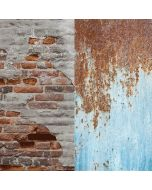 Lastolite 5713 Urban Collapsible 1.5 x 2.1m - Rusty Metal/Plaster Wall