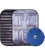 Lastolite LL LB5717 Urban Collapsible 1.5 x 2.1m - Shutter/Distressed Door