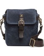 ONA Bond Street Waxed Canvas Camera Bag - Oxford Blue